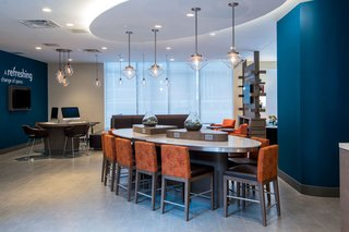 Clear Glass Pendant Lights Add Modern Touch to Even Hotel - Photo 1 of 4 -
