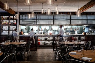 Modern Restaurant Pendant Lights Add to Charm of Popular Dallas Eatery - Photo 2 of 3 -