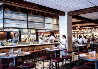 Modern Restaurant Pendant Lights Add to Charm of Popular Dallas Eatery - Photo 3 of 3 -