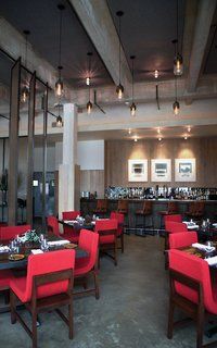 Modern Restaurant Lighting at Adorns Creekside Hotel and Bar - Photo 3 of 4 -
