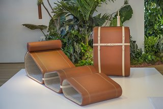 Marcel Wanders Launches Lounge Chair for Louis Vuitton - Photo 1 of 3 -