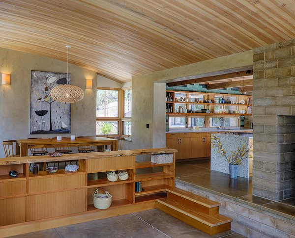 The tight, well-insulated building envelope eliminates the need for cooling, and highly efficient lighting and appliances minimize electric needs. Photo 15 of Healdsburg Family House modern home