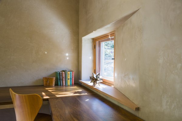 Feature windows frame views out to the landscape. Photo 8 of Healdsburg Family House modern home
