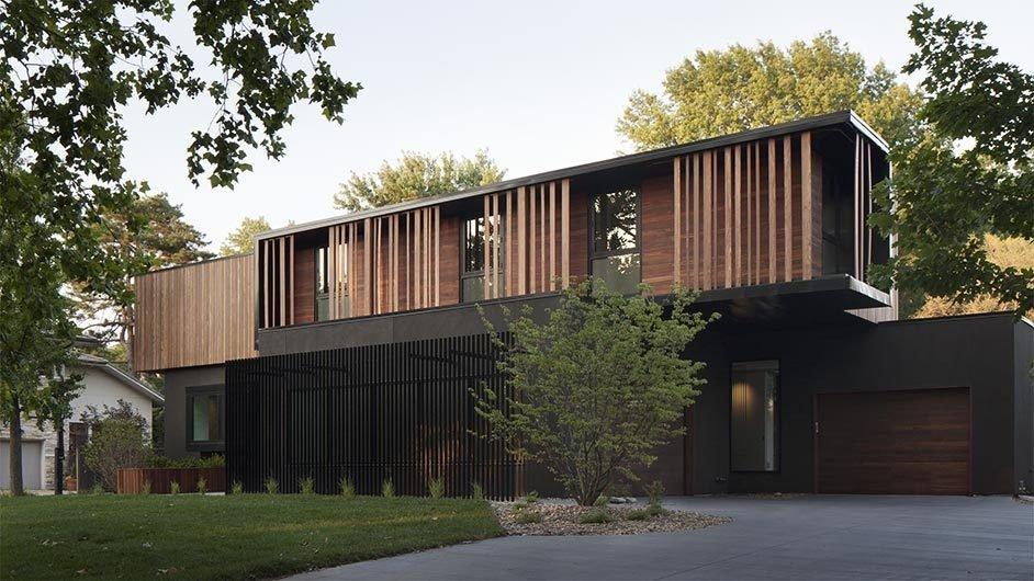 Baulinder Haus Modern Home In Kansas City, Missouri By Hufft On Dwell