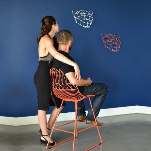 Lucy Counter Stool from Bend Goods