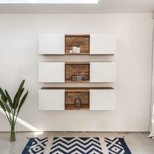 LAXseries 3X Wall Mounted Shelf from MASHstudios