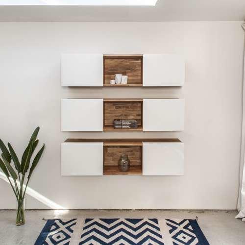 LAXseries 3X Wall Mounted Shelf from MASHstudios