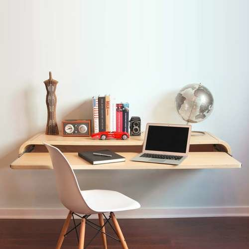 Minimal Float Wall Desk from Orange22