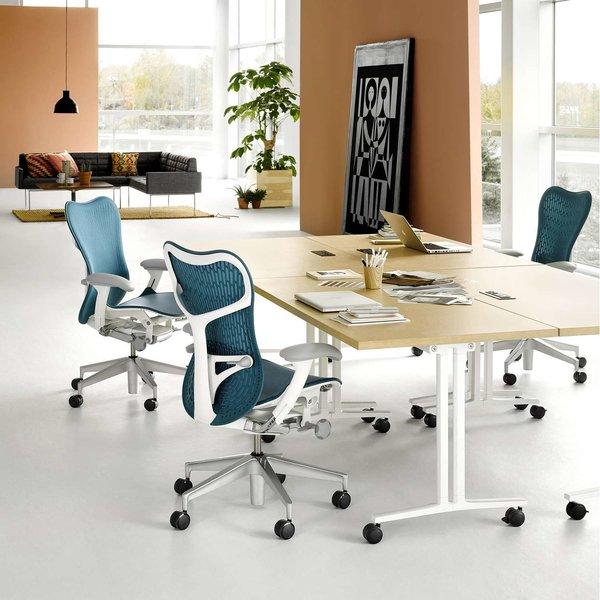 Everywhere Table, Rectangular Flip Top from Herman Miller