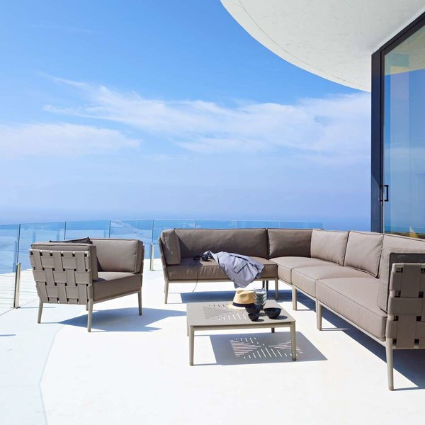 Conic Lounge Chair from Cane-line