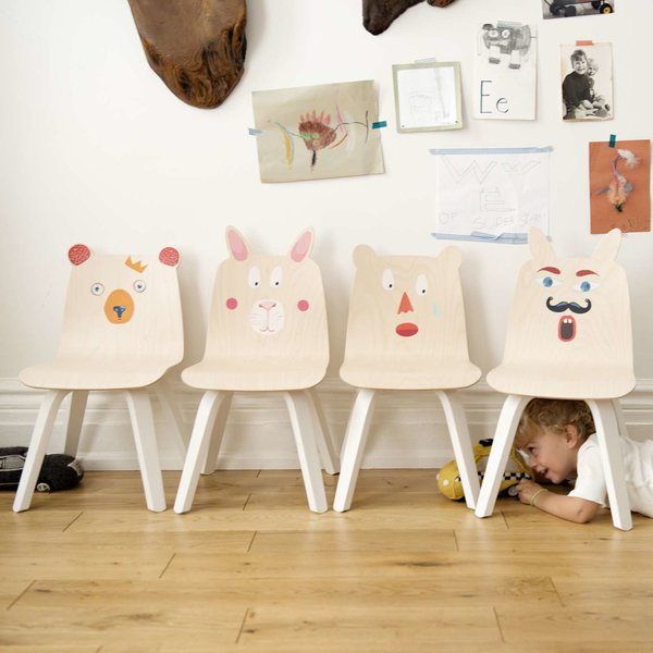 Bear Play Chairs, Set of 2 from Oeuf
