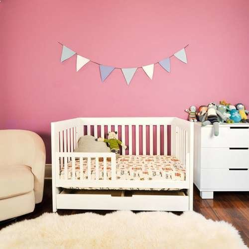 Mercer 3-In-1 Convertible Crib from Babyletto