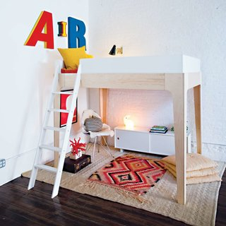 Perch Full Loft Bed from Oeuf