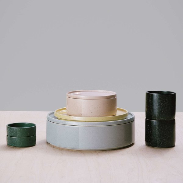 Sediment Bowl & Plate/Cover from Umbra