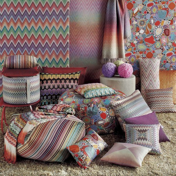 Ribe Pillow 16x16 from Missoni Home