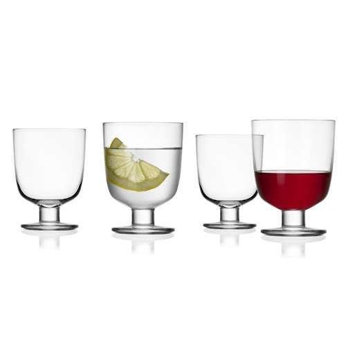 Lempi Glasses, Set of 4 from Iittala
