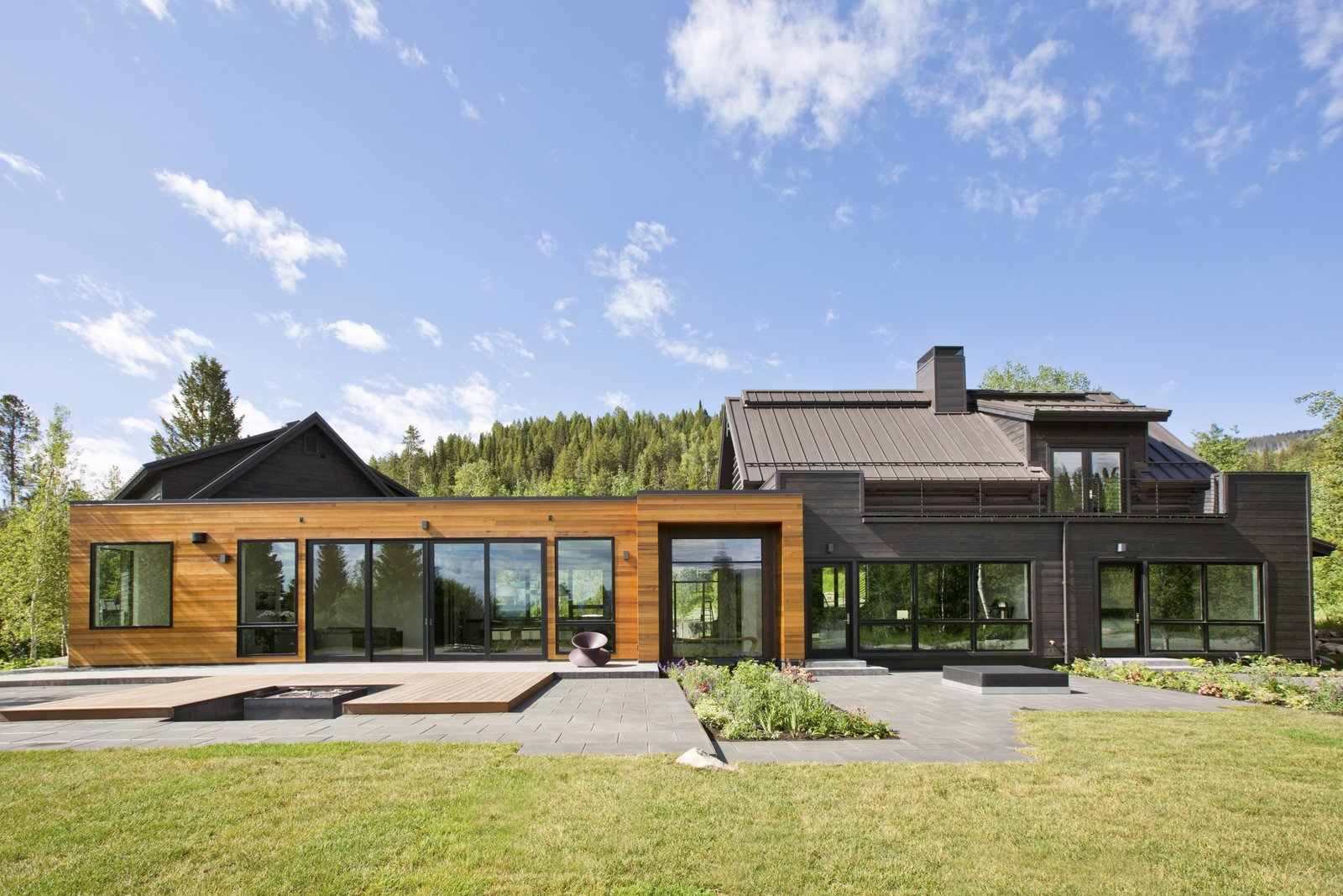Far from the typical log-cabin style, an enormous amount of thought and consideration went into the redesign of this Westbank home; floor-to-ceiling windows, exposed steel, state-of-the-art kitchen appliances and smart home technology redefine this home with a striking level of contemporary elegance. Learn more about this property at Jackson Hole Sotheby's International Realty: http://bit.ly/2dqhllB  Next-Level Additions to the Modern Home by Dwell