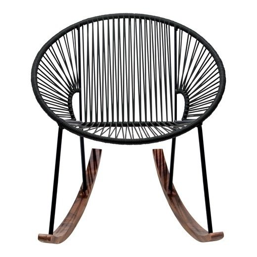 The Mexa rocking chair is a casual classic.