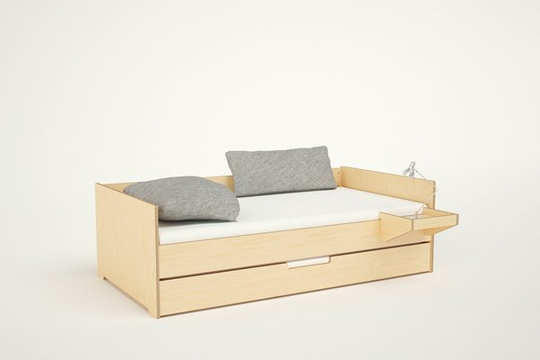 Think Beyond the Nursery Days With These 11 Hardworking Pieces For Your Kid's Room - Photo 1 of 7 - The Cabin  Daybed also comes with additional features such as sliding drawers below the bed and a hanging tray.