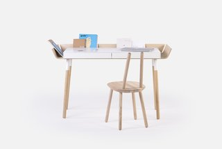 "Think Beyond the Nursery Days With These 11 Hardworking Pieces For Your Kid's Room - Photo 7 of 7 - When Lithuanian-born Designer Inesa Malafej designed ""My writing desk"" (MWD) for Emko, she was aiming to reduce clutter that creative work brings to the table."