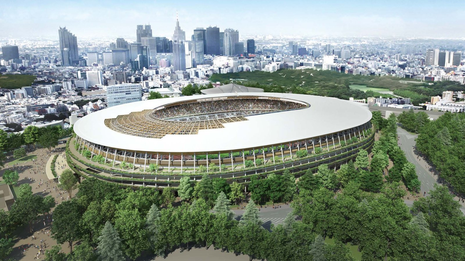 Designed to resemble a traditional Japanese temple, Kuma won the bid to construct the Japan National Stadium for the 2020 Olympics when the Prime Minister scrapped the original plan to go with Zaha Hadid in favor of homegrown talent. Architect Spotlight: 12 Works by Japanese Architect Kengo Kuma - Photo 13 of 13