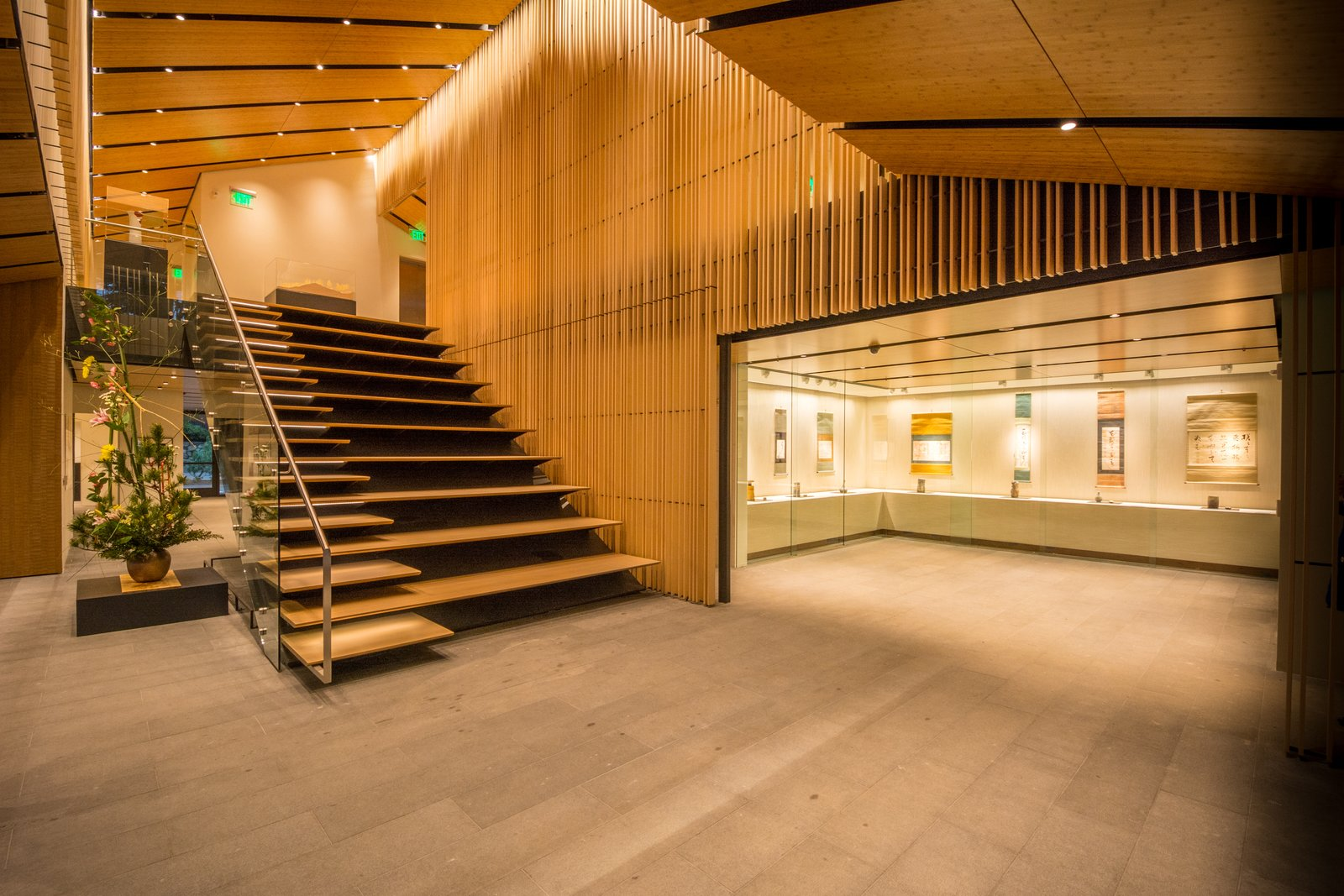 •The Jordan Schnitzer Japanese Arts Learning Center is home to new gallery spaces, a multi-purpose classroom, the Garden gift store and the Vollum Library, a comprehensive resource on Japanese gardening and related arts.