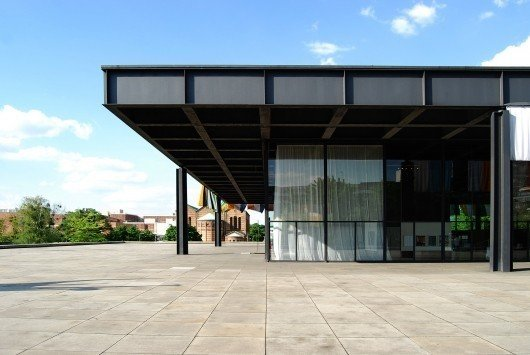 The Neue Nationalgalerie (New National Gallery) is a museum that Mies designed for modern art in Berlin. The museum building and its sculpture gardens opened in 1968.  Photo 11 of 11 in Less Is More: 10 Buildings by Ludwig Mies van der Rohe