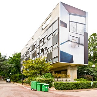 Spotlight on 10 Influential Works by Le Corbusier - Photo 9 of 10 - In 1930, Le Corbusier was asked to design a dormitory to house Swiss students at the Cité Internationale Universitaire in Paris. Initially, he and Pierre Jeanneret, refused to take on the project due to some tension with the Swiss commissioning the dorm. However, they eventually agreed to do it while working on a very limited budget, leading the building to become a shining example of his modern principles—as the architect was forced to prioritize the dwelling.