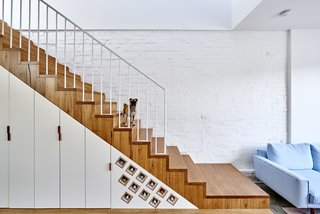 Gestalten's New Book Shows How to Transform Small Spaces Into Design Marvels - Photo 4 of 16 - The High House in Melbourne by Dan Gayfer integrates storage cabinets and a wine rack into the staircase.
