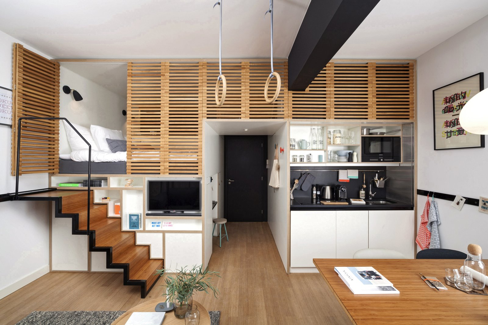 Concrete Amsterdam Zoku Loft p 15  Photo 15 of 16 in Gestalten's New Book Shows How to Transform Small Spaces Into Design Marvels