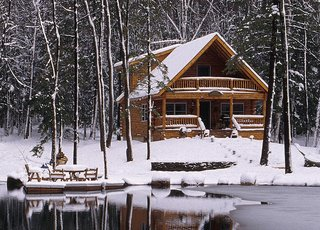 7 East Coast Kit Home Companies - Photo 4 of 7 - From a tiny log home to a full-on cabin, Lok-n-Logs—based in Sherburne, New York—can make your log cabin kit home dream come true.