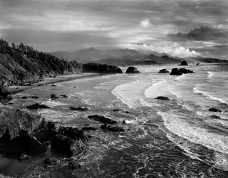 Spotlight on John Yeon, the Father of Northwest Regional Architecture - Photo 12 of 14 - Shown here is Chapman Point, a view south from Ecola State Park in 1994. Yeon purchased this segment of the Oregon coast to preserve it from development.