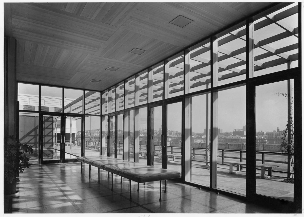 The Portland Visitors Information Center, 1948. Spotlight on John Yeon, the Father of Northwest Regional Architecture - Photo 8 of 15