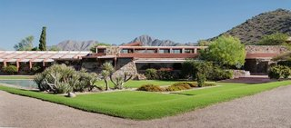 10 Ways to Celebrate Frank Lloyd Wright's 150th Birthday - Photo 11 of 11 - Taliesin West in Scottsdale, Arizona, 1937. Built and maintained almost entirely by Wright and his apprentices, it was one of the architect's most personal creations.