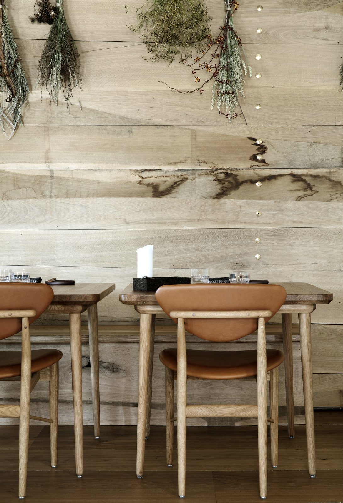 The restaurant's furniture was created by Malte Gormsen using traditional Danish craftsmanship and carpentry. Snøhetta Designs the Interiors of Barr, the Noma Group's New  Copenhagen Restaurant - Photo 6 of 10
