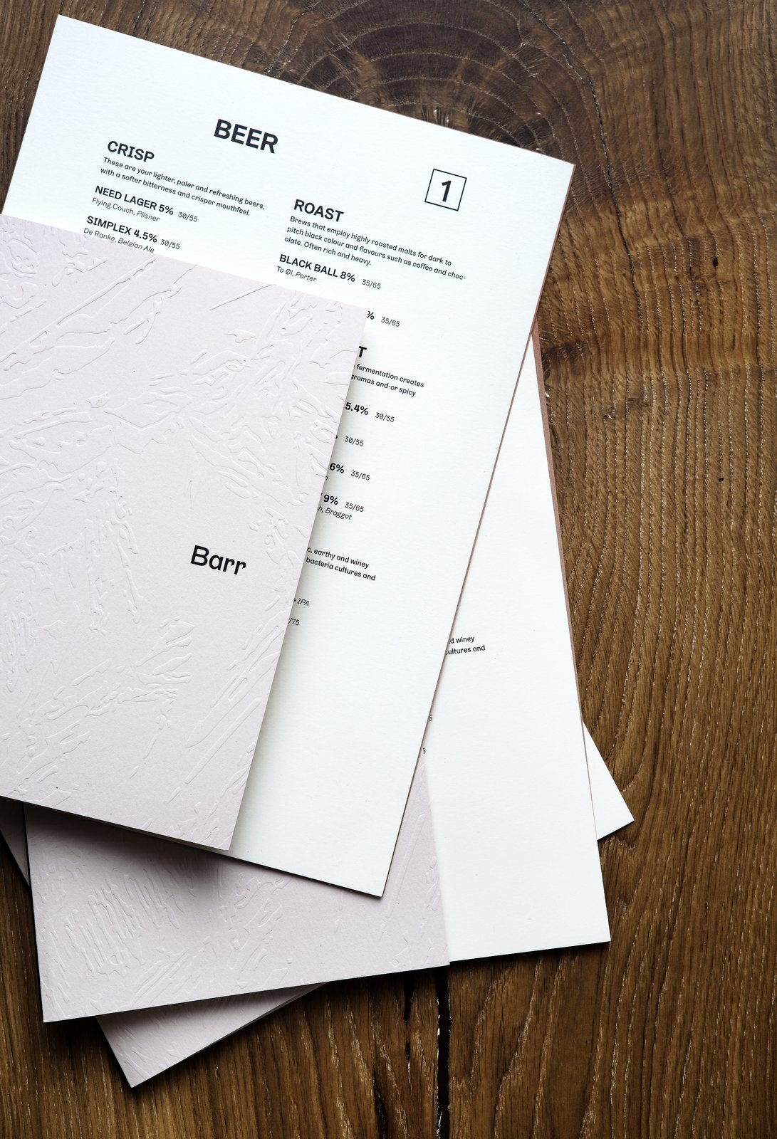 In addition to the interiors, Snøhetta also designed the branding and visual identity for Barr. After researching the typographical heritage of the North Sea region, Snøhetta even developed a unique typeface called Barr Gräbenbach. Snøhetta Designs the Interiors of Barr, the Noma Group's New  Copenhagen Restaurant - Photo 9 of 10