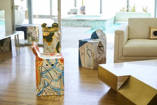 Casa Perfect Debuts Reinaldo Sanguino's Vibrant Ceramics Inspired by '90s Graffiti Culture - Photo 2 of 9 - Sanguino views his own work as abstract art that's designed to live in the center of a room.