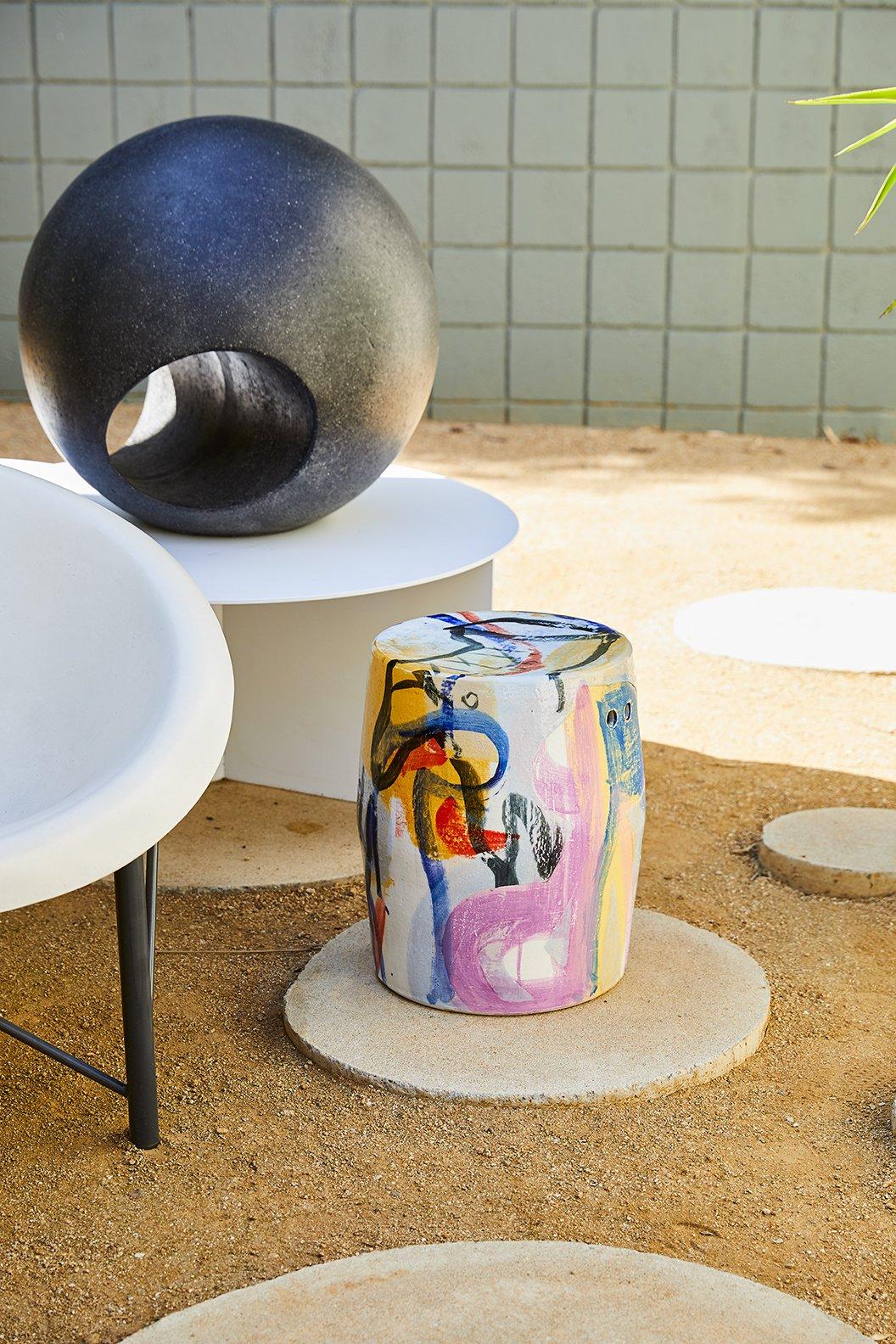Photo 8 of 10 in Casa Perfect Debuts Reinaldo Sanguino's Vibrant Ceramics Inspired by '90s Graffiti Culture