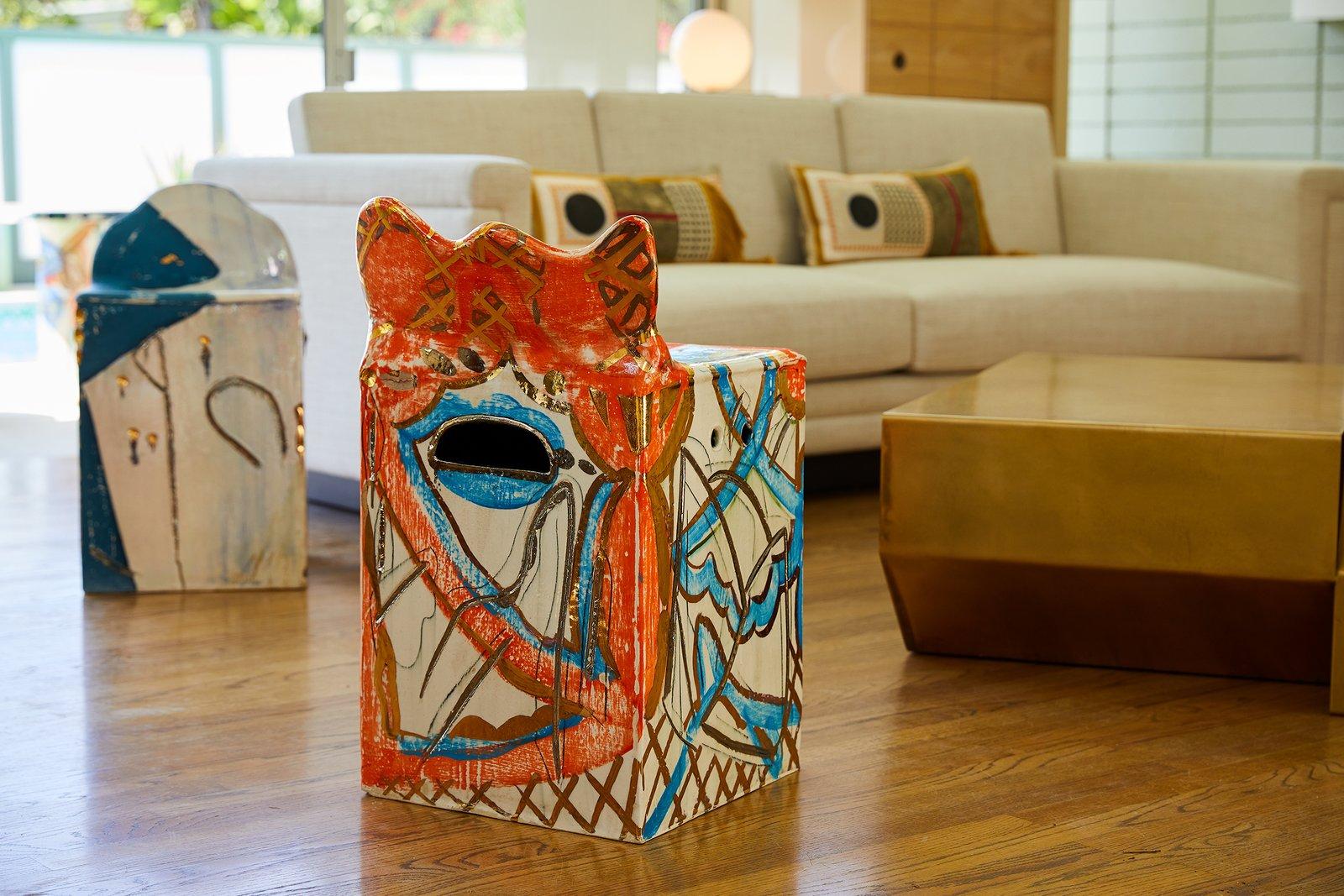 Photo 9 of 10 in Casa Perfect Debuts Reinaldo Sanguino's Vibrant Ceramics Inspired by '90s Graffiti Culture