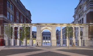 Part of an Epic Expansion, London's V&A Museum Paves its Courtyard With 11,000 Porcelain Tiles - Photo 10 of 10 -