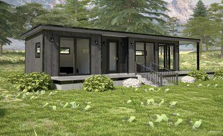 These Customizable Modular Homes Can Make Your Tiny House Dreams Come True - Photo 6 of 9 - The Light Haus, measuring 400 square feet.