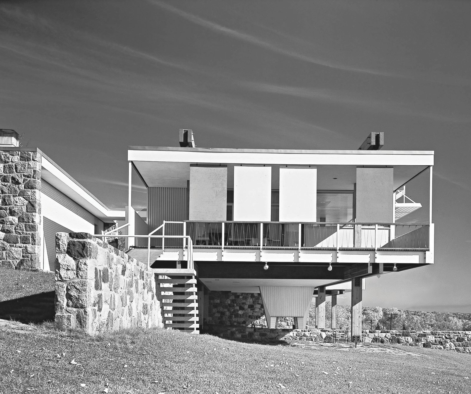 Marcel Breuer: Starkey House in Duluth, Minnesota, 1955  Photo 5 of 11 in Dive Into a Visually Stunning Book That Celebrates Modernist Architecture and its Evolution