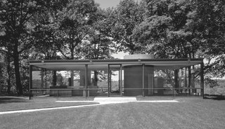 Dive Into a Visually Stunning Book That Celebrates Modernist Architecture and its Evolution - Photo 5 of 10 - Philip Johnson: Glass House in New Canaan, Connecticut, 1949