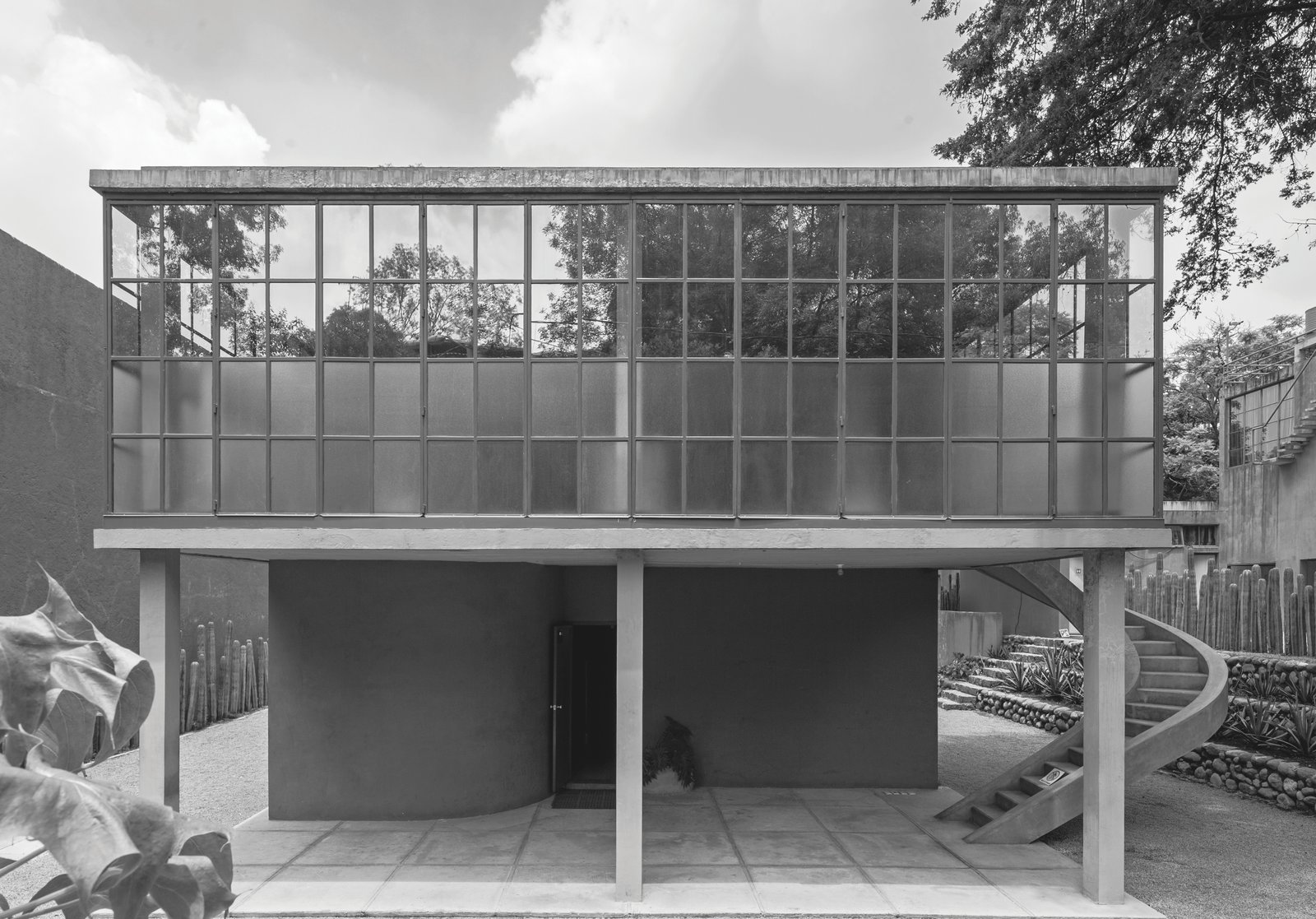 Juan O'Gorman: Casa O'Gorman in Mexico City, Mexico, 1929 Tagged: Outdoor.  Photo 7 of 11 in Dive Into a Visually Stunning Book That Celebrates Modernist Architecture and its Evolution