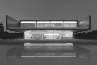 Dive Into a Visually Stunning Book That Celebrates Modernist Architecture and its Evolution - Photo 9 of 10 - Fran Silvestre Arquitectos: Aluminum House in Madrid, Spain, 2016