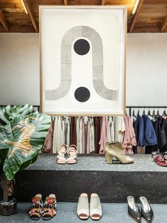 The Block Shop Sisters Launch Their Framed Woodblock Prints at Rachel Comey's L.A. Boutique - Photo 8 of 8 - The woodblock prints will be available to purchase on Block Shop's website and at the Rachel Comey boutique throughout the fall season.