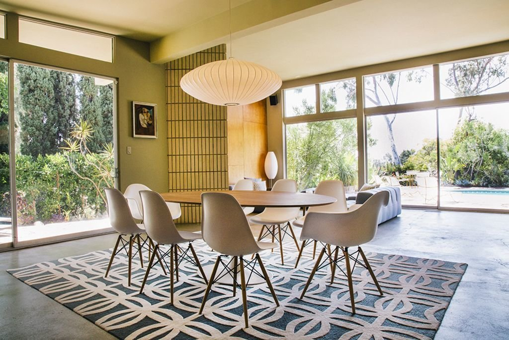 Situated underneath the iconic Hollywood sign--this Midcentury modern masterpiece by Kazumi Adachi was built in 1958 and has appeared in over 250 editorial and celebrity photo shoots for Vogue, Bazaar, Marie Clare, GQ, to name a few. Located in famous Beachwood Canyon (where stars such as Bogart, Gable and Chaplin had  Photo 8 of 12 in Experience L.A. Like an A-Lister at One of These Modern Short-Term Rentals