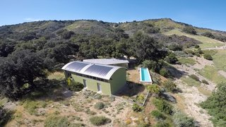 Set on 40 Enchanting Acres in Ojai, This Award-Winning Green Residence Is on the Market For $2.2M - Photo 10 of 10 - The roof-integrated photovoltaic system is extremely energy efficient.