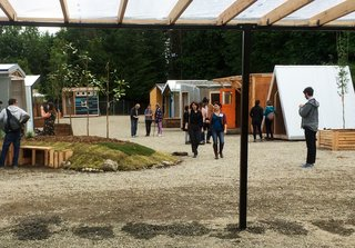 """How Tiny Pods Are the Future For Portland's Houseless Community - Photo 6 of 7 - The structures are referred to as PODs because of code requirements. The individual PODs have solar panels and no plumbing. The grounds offer communal shared facilities such as kitchens and bathrooms.<br><span style=""""color: rgb(204, 204, 204); font-size: 13px;"""">CPID</span>"""