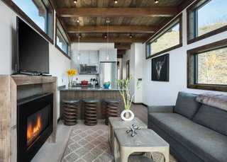 Test Out Tiny House Living at One of These Nature-Immersed Cabin Resorts - Photo 10 of 14 - The interiors are rustic and modern with a sophisticated finish.